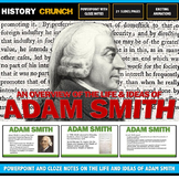 Adam Smith - PowerPoint with Cloze Notes