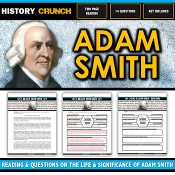Adam Smith - Reading, Questions and Key