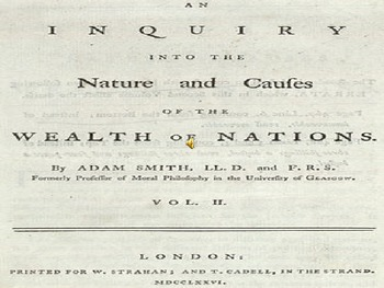 Adam Smith and The Wealth of Nations