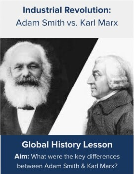 Adam Smith vs. Karl Marx