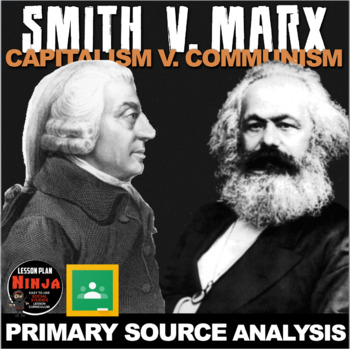 Adam Smith vs Karl Marx Primary Source Activity(Industrial