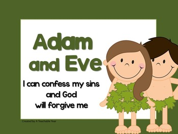 Adam and Eve- Bible Lesson