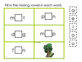 Adam and Eve CVC #2 printable game. Preschool Bible Study