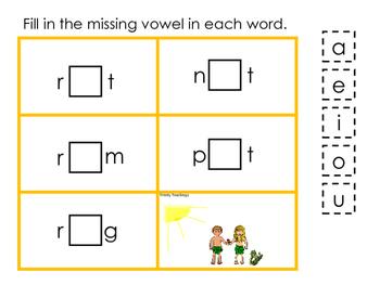 Adam and Eve CVC #4 printable game. Preschool Bible Study Curriculum