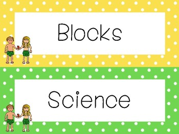 Adam and Eve Classroom Center Sign Labels. Bible Bulletin Board Accessories.