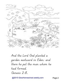 Adam and Eve Coloring Book