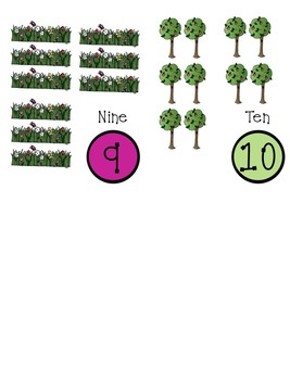 Adam and Eve Count and Clip Cards