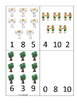 Adam and Eve Count and Clip printable game. Preschool Bibl