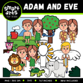 Adam and Eve Clipart