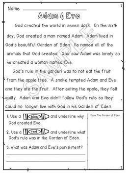 Adam and Eve Mini Unit