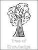 Adam and Eve Printable Color Sheets. Preschool Bible Study