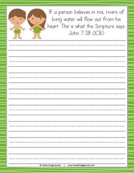 Adam and Eve Printable Pack