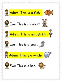 Adam and Eve Reader's Theater