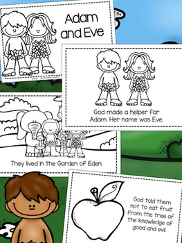 Adam and Eve:The Fall of Man Emergent Reader