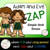 Adam and Eve ZAP! Forming Simple Verb Tenses