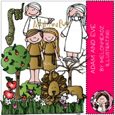 Adam and Eve clip art - Bible - COMBO PACK - by Melonheadz