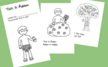 Adam and Eve for Little Learners (PreK-1)