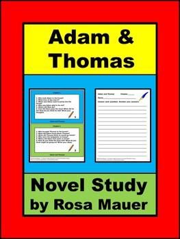 Adam and Thomas Novel Study