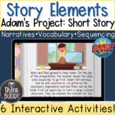 Adam's Project Short Story with Story Comprehension and Re