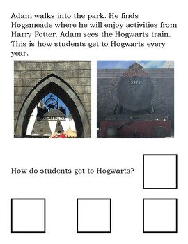 Adam's Trip to Harry Potter World (Adapted Book Lvl 2)
