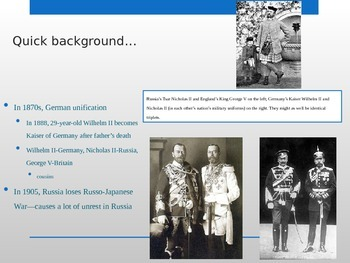 Adanced Placement U.S. History APUSH Bailey Chapter 29-30 WW1 PowerPoint