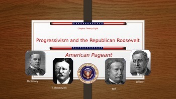 Adanced Placement U.S. History Bailey Chapter 28-29 Progressivism PowerPoint