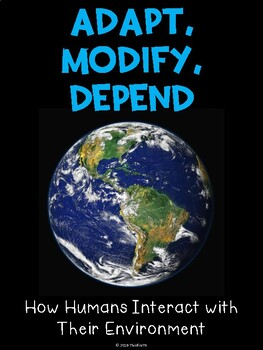 Adapt Modify Depend Passage with Extension Activities