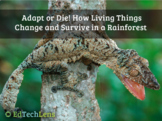 Adapt or Die! How Living Things Change and Survive in a Rainforest EPUB