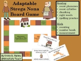 Adaptable Board Game Featuring a Strega Nona Theme for Centers