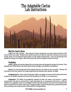 Adaptable Cactus (Ecology)