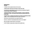 Adaptable Essay Rubric