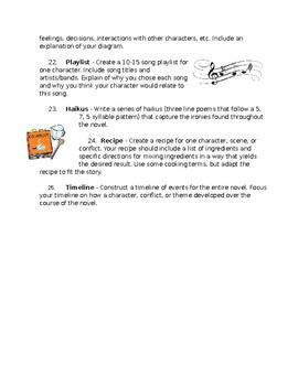 Adaptable Novel Activities