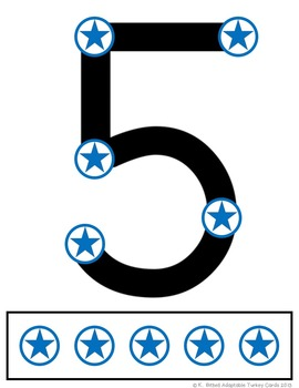 Number Cards: Adaptable with Point and Press ADDITION, SUBTRACTION  1-9
