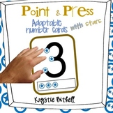 Number Cards: Adaptable with Point and Press ADDITION, SUB