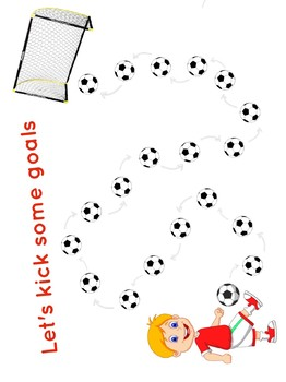 Adaptable Rewards Chart - SOCCER (girls or boys)