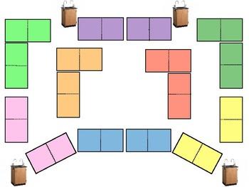 Adaptable Seating Charts