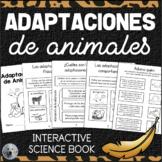 Adaptaciones de Animales - Animal Adaptations - Interactiv