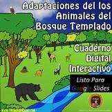 Adaptaciones de los Animales del Bosque Templado Para Google Drive