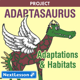 Adaptasaurus - Science Projects & PBL