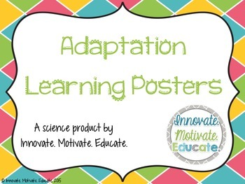 Adaptation Learning Posters