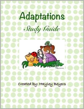 Adaptation Study Guide