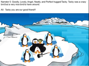 Adaptation of Tacky the Penguin PowerPoint Story