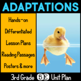Adaptations 5E Science Unit Plan for Third Grade