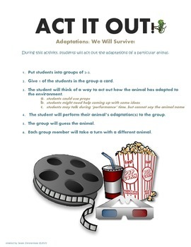 Adaptations: Act It Out!