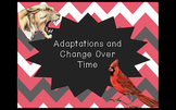 Adaptations & Change Over Time Introduction