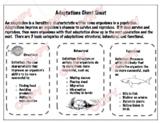 Adaptations Study Sheet
