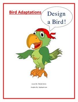 Adaptations:  Design a Bird