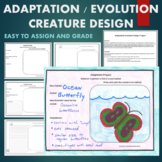 Adaptations/ Evolution Design Project Based Learning