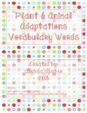"Adaptations Freebie {Part of ""Animal Adaptations, Behaviors, & Traits"" product}"