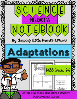 Adaptations- Interactive Science Notebook & Journal